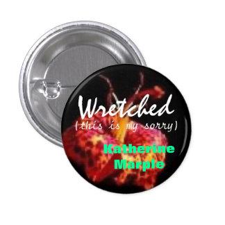 Promote Katherine Marple 1 Inch Round Button