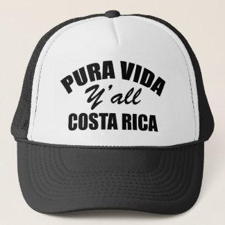 "Promote ""Pure Life"" Costa Rica style!!! Trucker Hat"