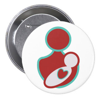 Promote Safe Labor and Delivery 3 Inch Round Button