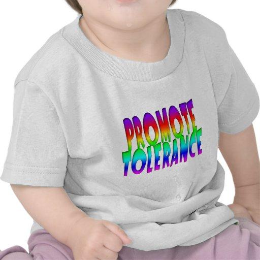 Promote Tolerance Rainbow T-shirts