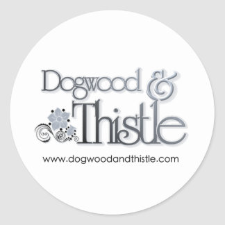Promote Your BRAND or BUSINESS Classic Round Sticker