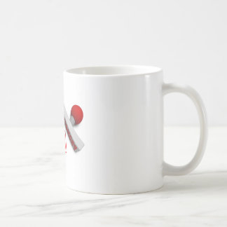 Promoted Stamp or Chop on Paper Concept in 3d Coffee Mug