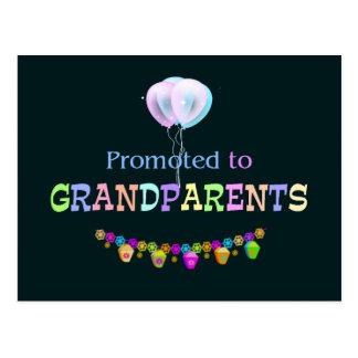 Promoted to Grandpa, celebration Postcard