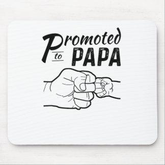 Promoted To Papa New Grandpa Mens Shirt Mouse Pad