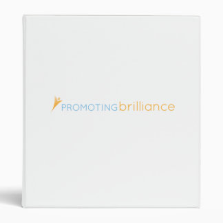 Promoting Brilliance 3-Ring Binders