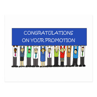 Promotion Congratulations Postcard