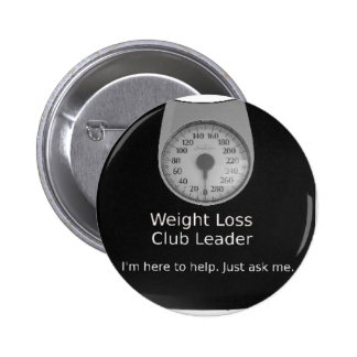 Promotional Design For Weight Loss Coaches 2 Inch Round Button