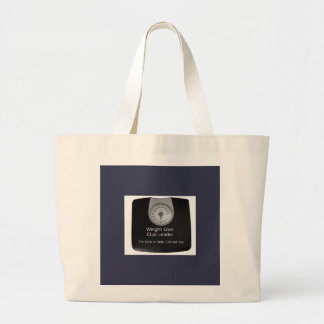 Promotional Design For Weight Loss Coaches Large Tote Bag