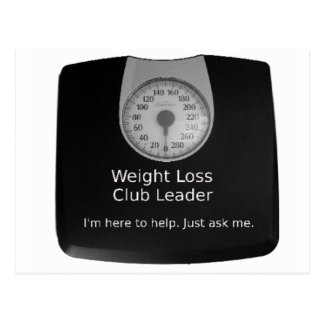 Promotional Design For Weight Loss Coaches Postcard