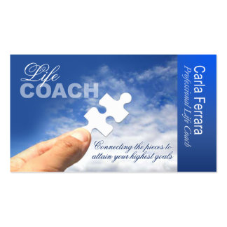 PROMOTIONAL for Life Coach Spiritual Counseling Business Card Templates