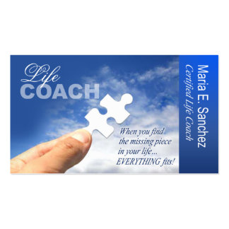 PROMOTIONAL for Life Coach Spiritual Counseling Business Cards