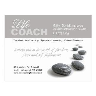 PROMOTIONAL Life Coach advertisement Postcard