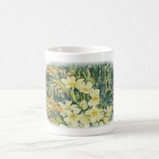 Promroses in spring coffee mug