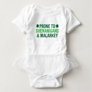 Prone to Shenanigans Baby Bodysuit