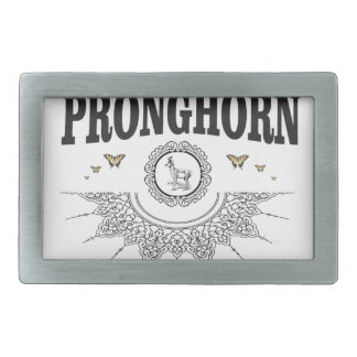 pronghorn butterfly art belt buckle