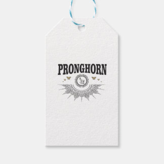 pronghorn butterfly art gift tags