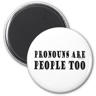 Pronouns Magnet