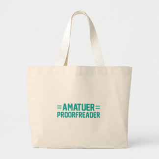 Proorfreader Large Tote Bag
