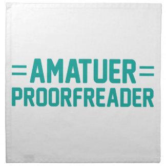Proorfreader Napkin