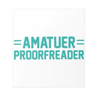 Proorfreader Notepad