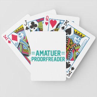 Proorfreader Poker Deck