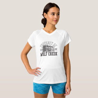 Prop of Wolf Creek - Champion Double-Dry V-Neck T-Shirt