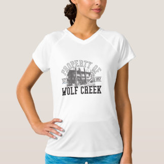Prop of Wolf Creek - New Balance T-shirt