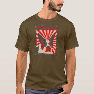 Propaganda Boston Terrier T-Shirt