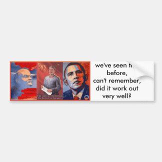 propaganda bumper sticker