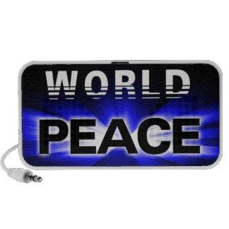 Propagation du griffonnage de conception de paix d système de haut-parleurs
