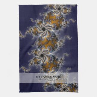 Propelleflora - Swirl Fractal Kitchen Towel