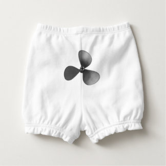 Propeller Baby Bloomers Diaper Cover