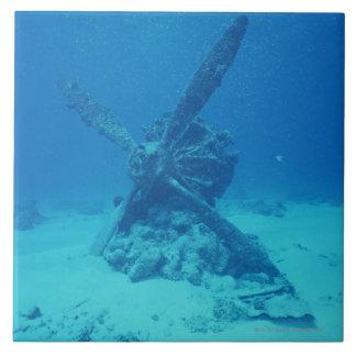 Propeller on the Bottom of Sea Ceramic Tiles