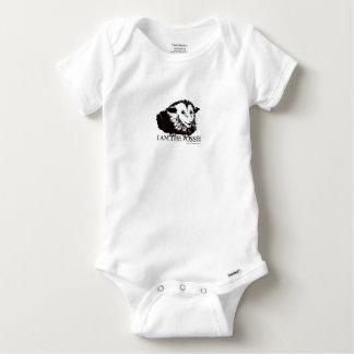 Proper Possum Baby Onesie