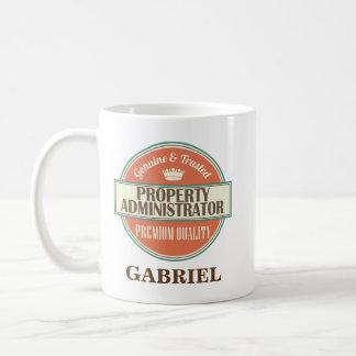 Property Administrator Personalized Mug Gift