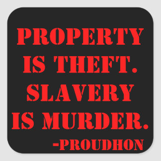 property is theft sticker