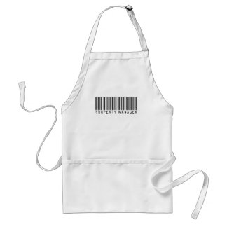 Property Manager Bar Code Standard Apron