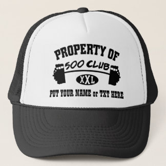 Property Of 500 Club XXL Hat