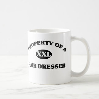 Property of a HAIR DRESSER Coffee Mugs