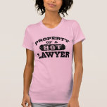 Property of a Hot Lawyer Shirts