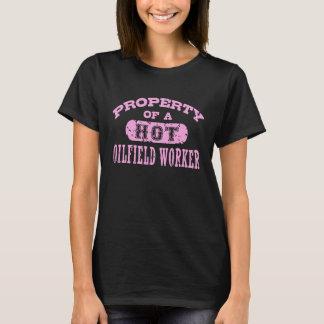 Property of a Hot Oilfield Worker T-Shirt