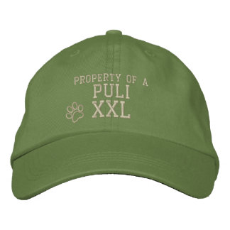 Property of a Puli Embroidered Hat