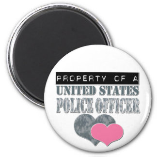 Property Of A United States Police Officer Magnet