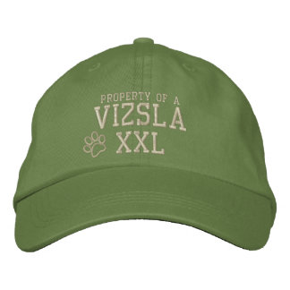 Property of a Vizsla Embroidered Hat