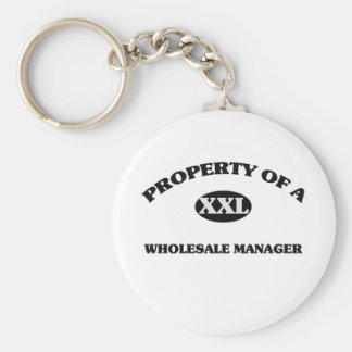 Property of a WHOLESALE MANAGER Key Chains