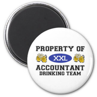 Property of Accoutant Drinking Team Magnet