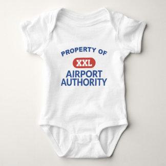 Property of Airport Authority Baby Bodysuit