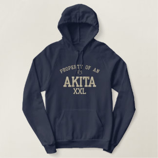 Property of an Akita Embroidered Shirt