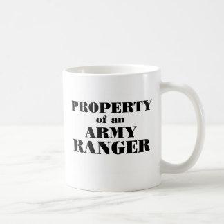 Property of an Army Ranger Classic White Coffee Mug