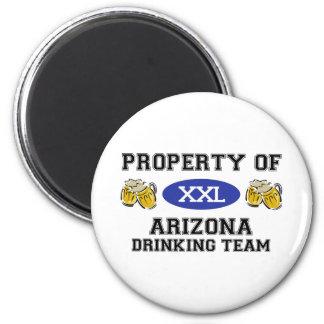 Property of Arizona Drinking Team Magnet